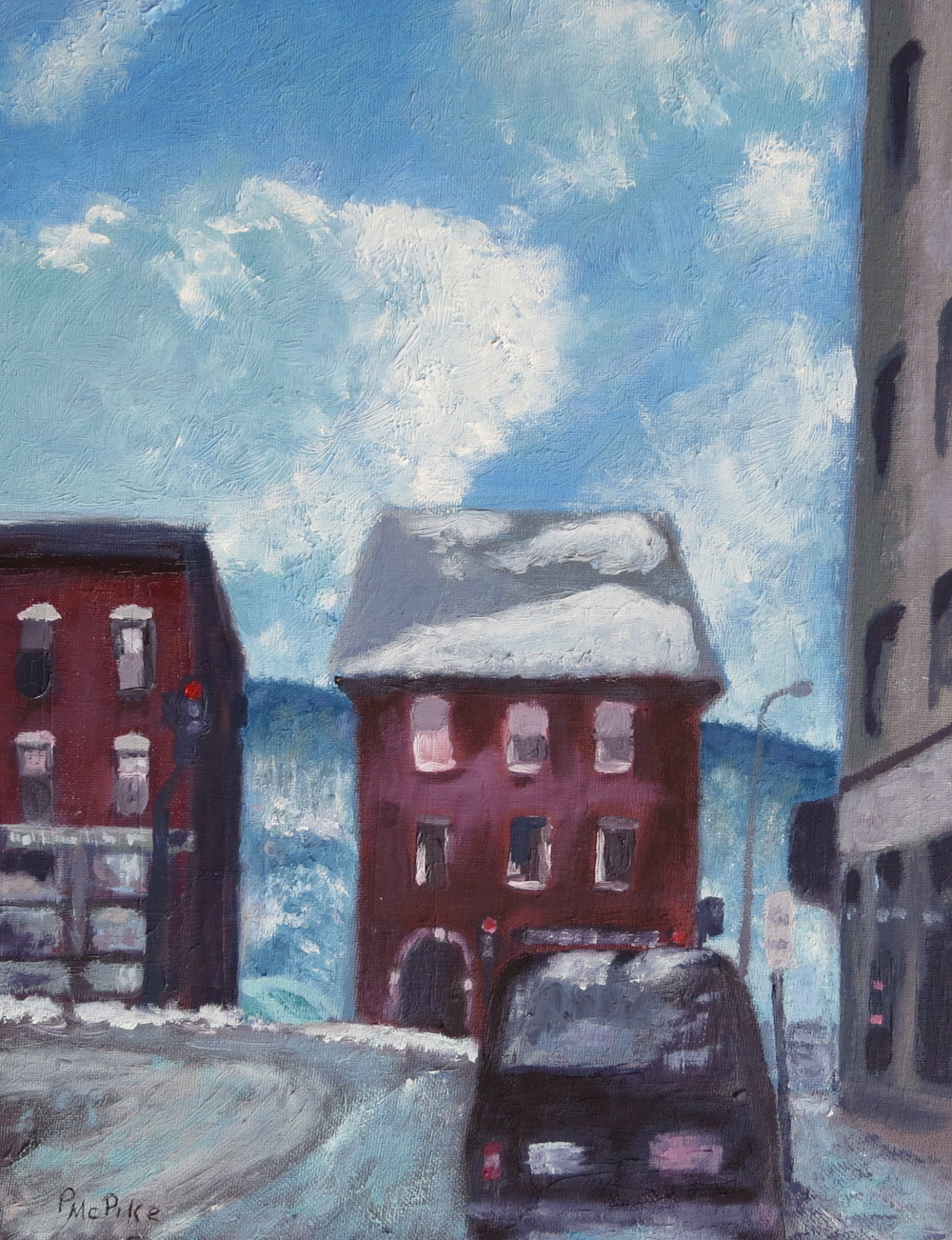 Downtown Blues (oil)