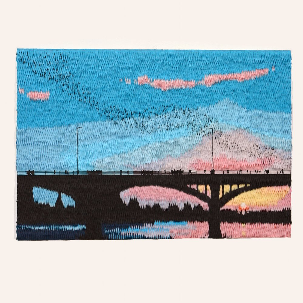 Congress Avenue Bridge - Painting Pinata.jpg