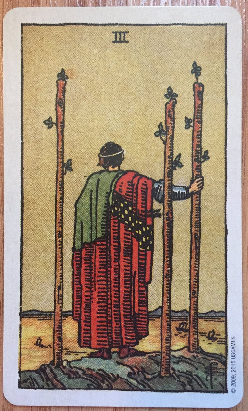 The 3 of Wands