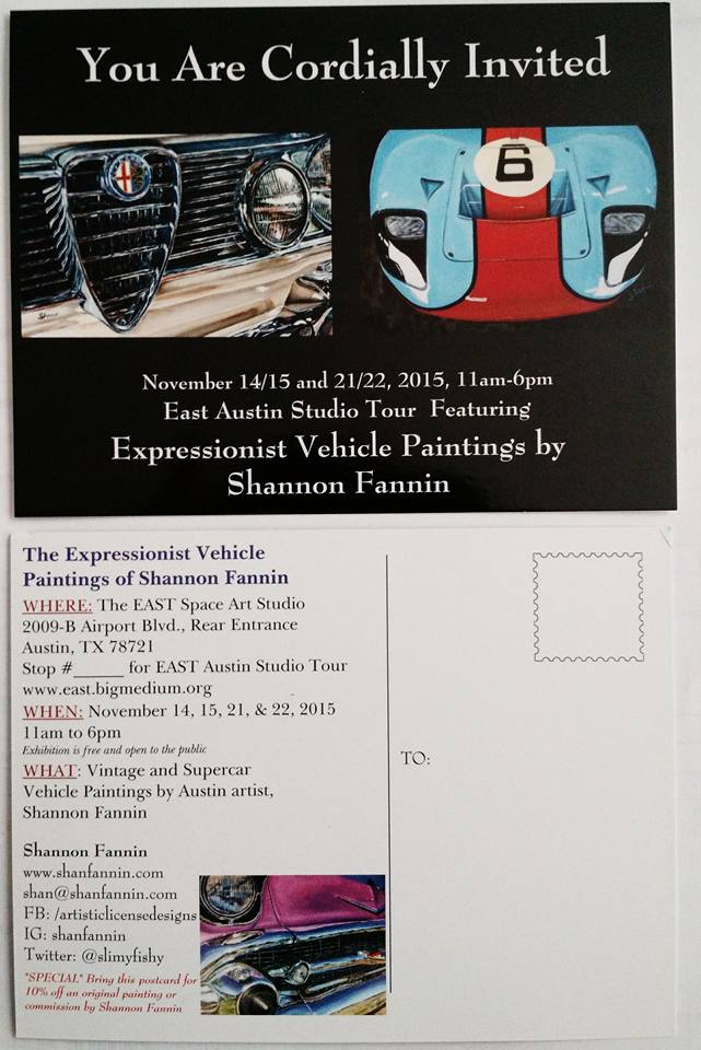 EAST Invitation from Shan Fannin