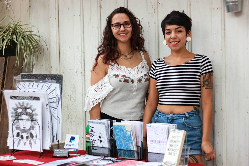 Free Rent ATX as a vendor at our pop-up with Got A Girl Crush, photo by Te Amo Photography