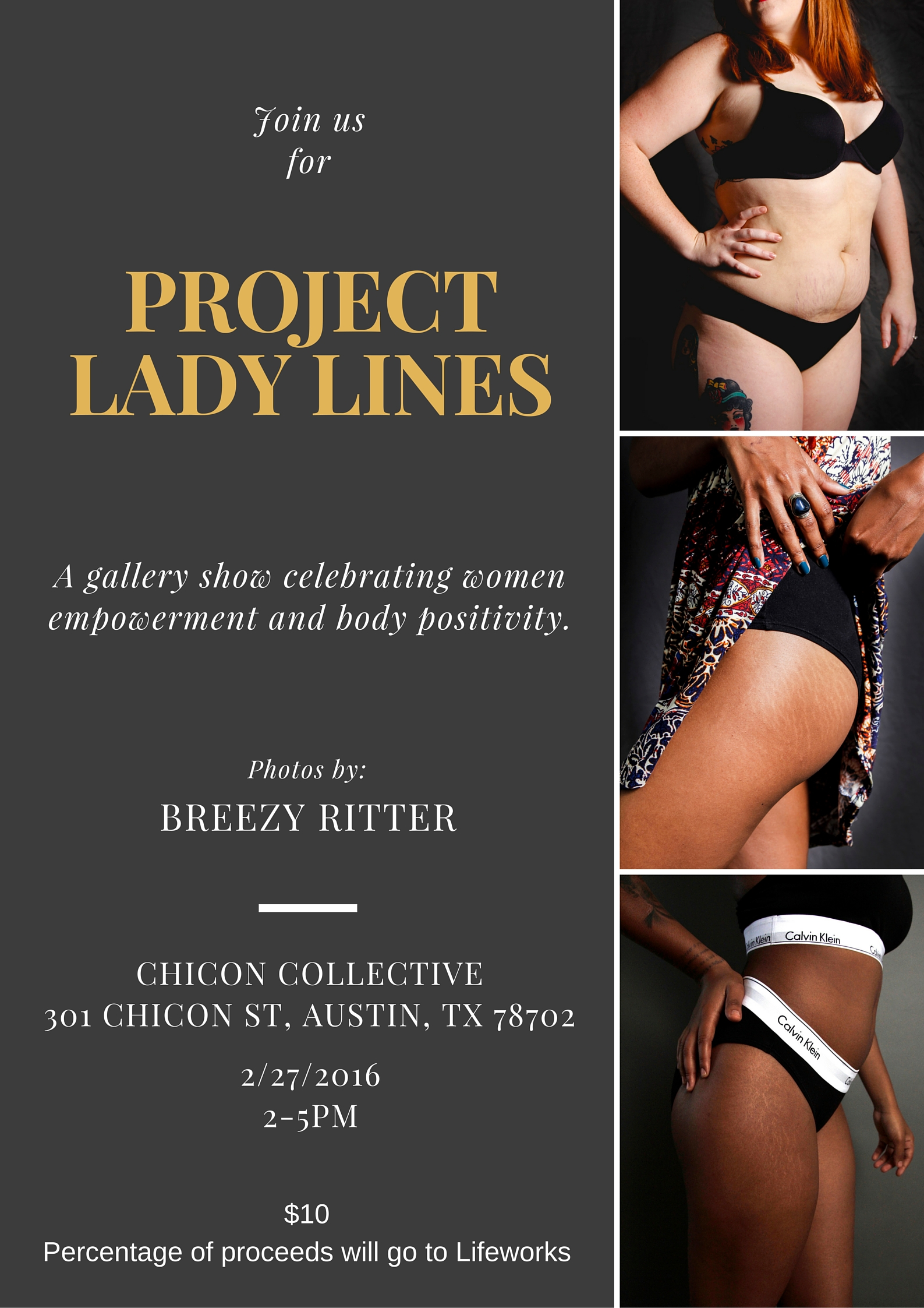 Project Lady Lines poster