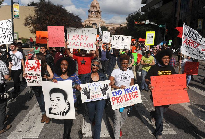 Photo from The Austin Justice Coalition