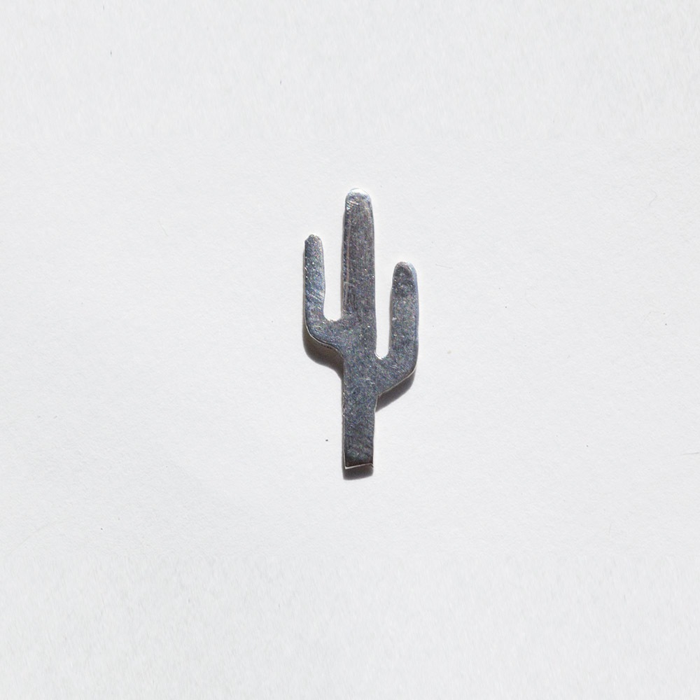 The Sterling Silver Cactus Earring by Hey Murphy, $35