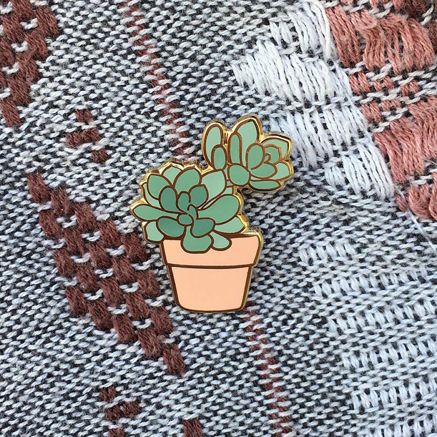The Succulent Pin by Lorhs, Contact for pricing