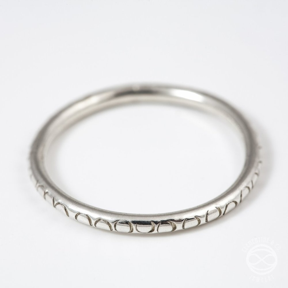 The Silver Stacking Ring by Clementine & Co. Jewelry, $22
