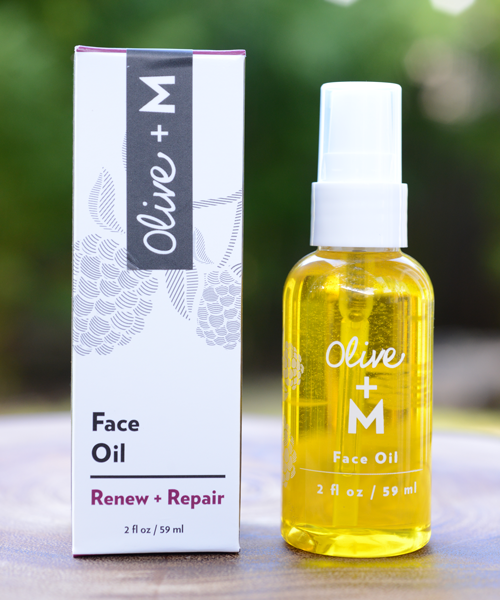 The Face Oil by Olive + M, $68