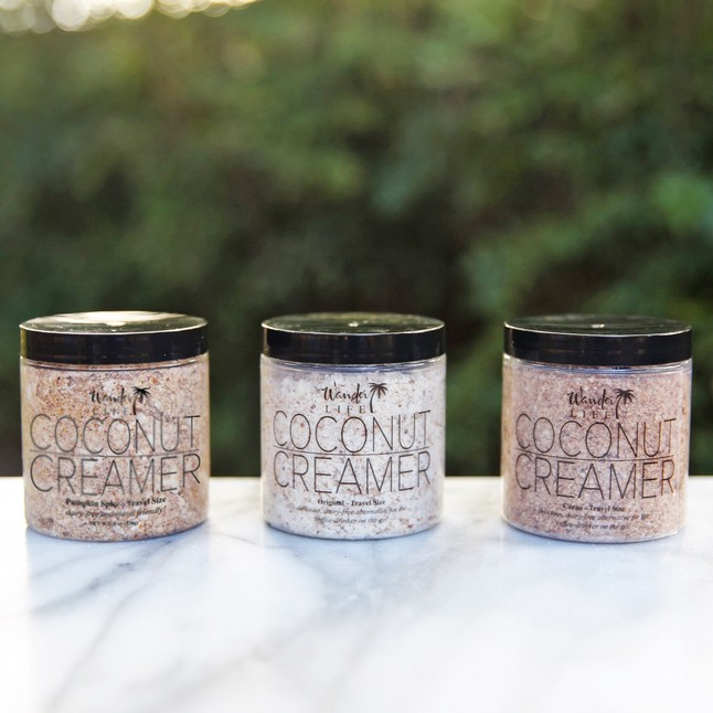 The Coconut Creamer Three Pack by Wander Life, $27