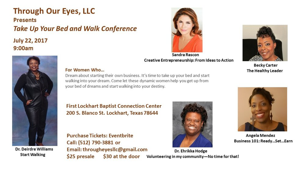Take Up Your Bed And Walk Conference For Women Bossbabesatx