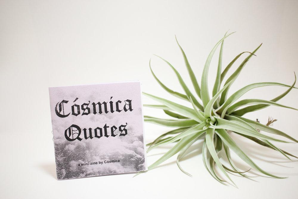Cósmica Quotes