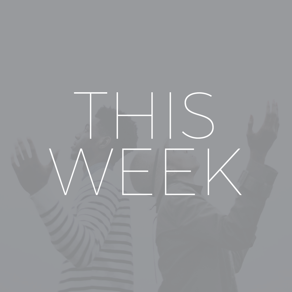 get a look ahead at what we'll be doing this weekend in worship