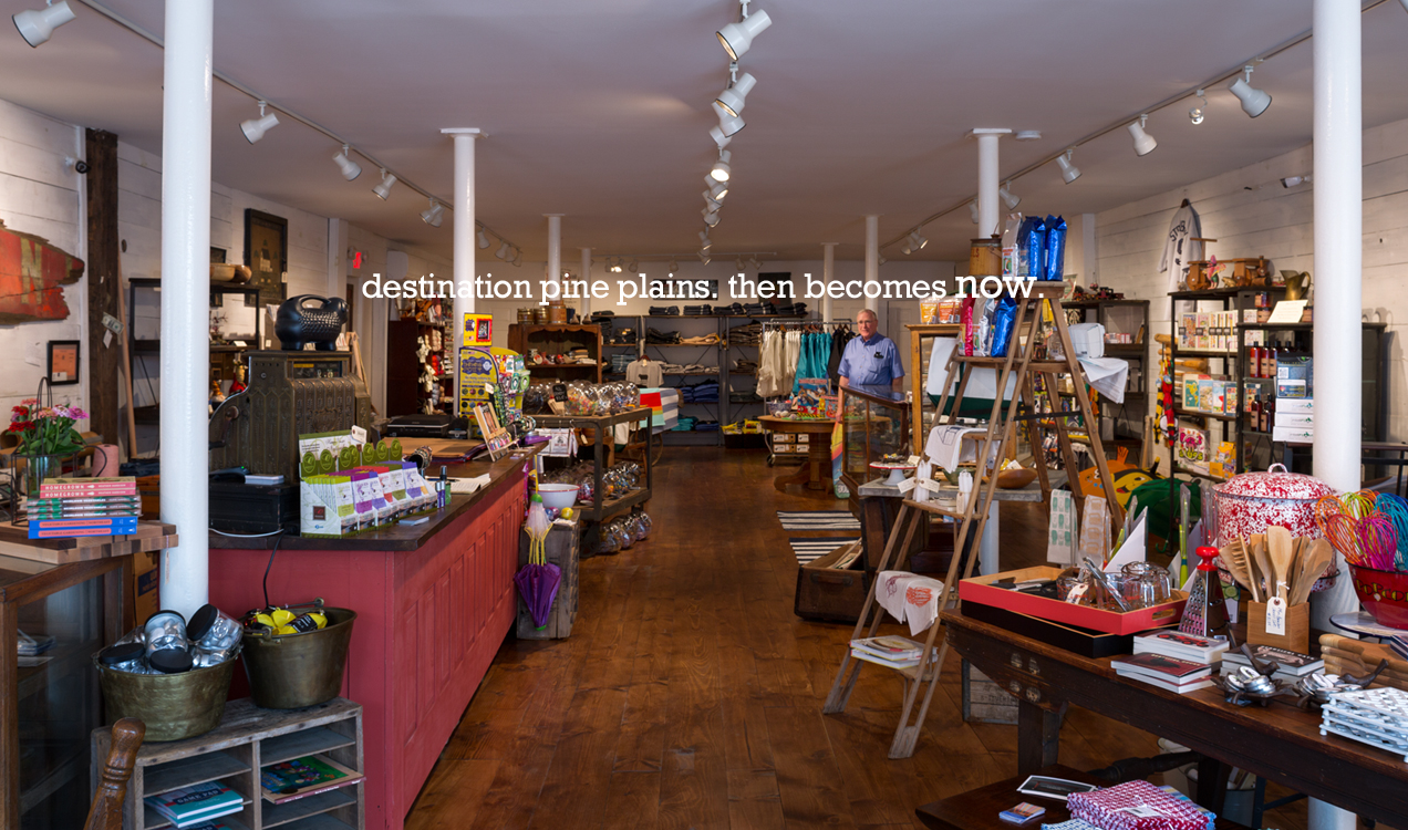 """Pine Plains Emporium """"The new Pine Plains Emporium will celebrate the tradition of that community general store with locally crafted goods, everyday supplies, select antiques and collectibles and insights …"""""""