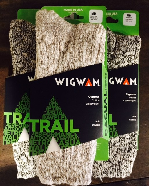 Wigwam Socks $5. While Supplies Last.