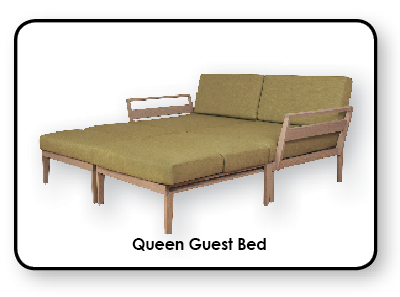 Axel Bloom Queen Guest Bed