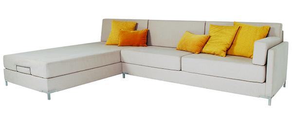 Monaco Sofa w/Klein Platinum Fabric