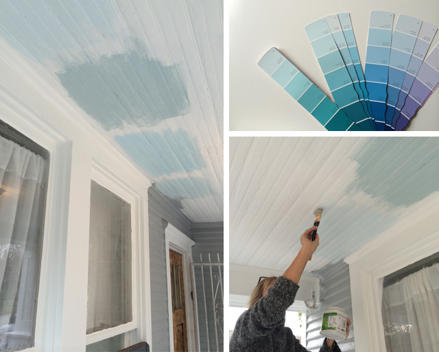 This Is Without A Doubt An Incredibly Important Part Of The Process    Colors Change Entirely On The Horizontal Surface Of A Ceiling.