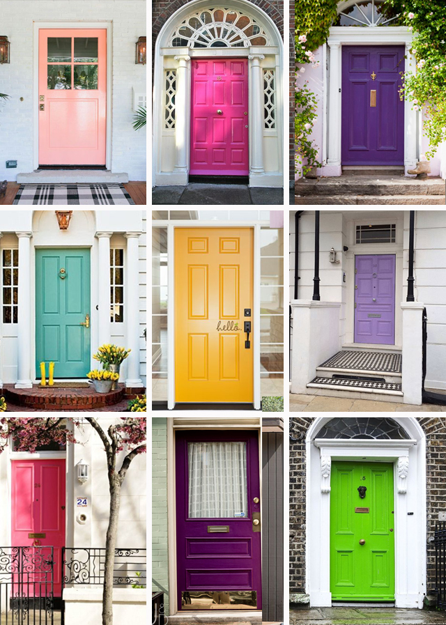FRONT DOOR COLORS LAUREN LOUISE DESIGN