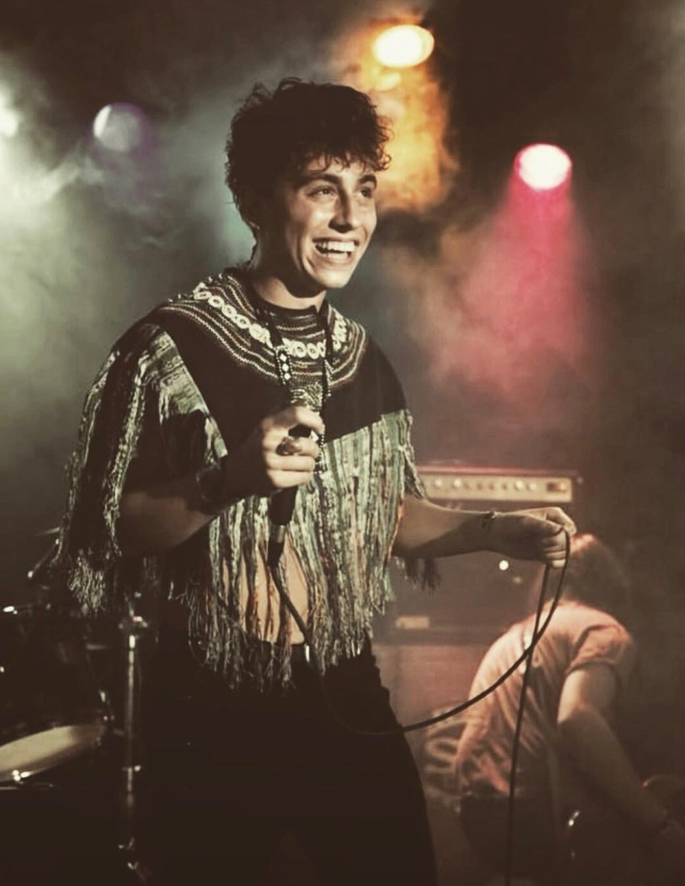 Josh Kiska of Greta Van Fleet wearing my custom design