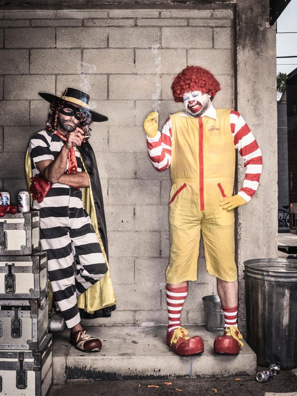 Walton Goggins and Danny McBride for GQ  Photo: Dan Winters