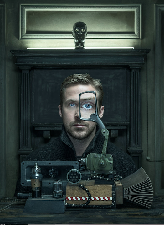 "Ryan Gosling for ""Wired""  Photo: Dan Winters"