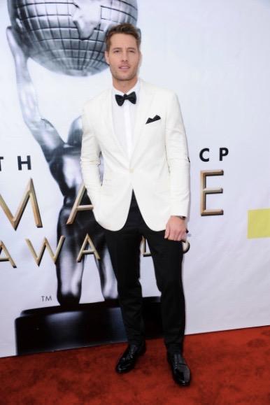 Justin Hartley at the NAACP Awards