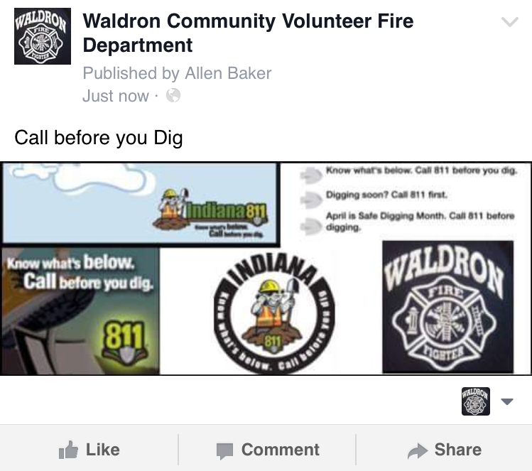 Waldron Comm. Vol. Fire Department