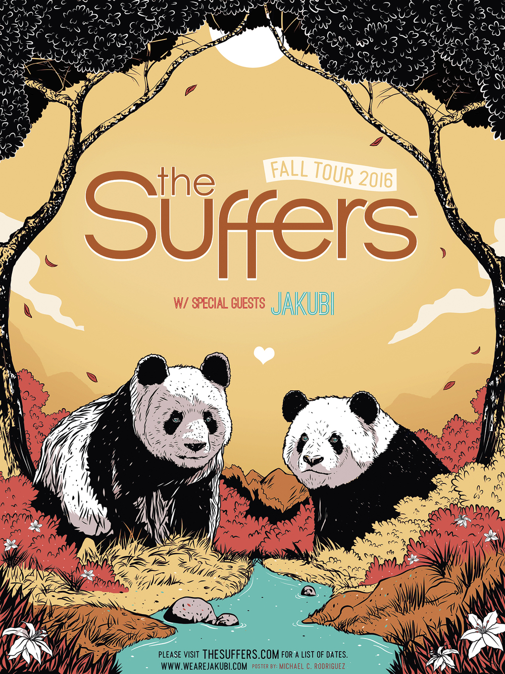 The Suffers | Fall Tour 2016 | w Jakubi | Poster.jpg