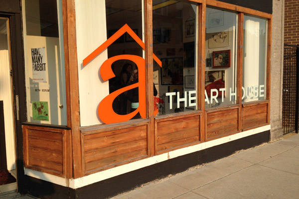 The Art House Gallery & Studio Workshop in Chicago