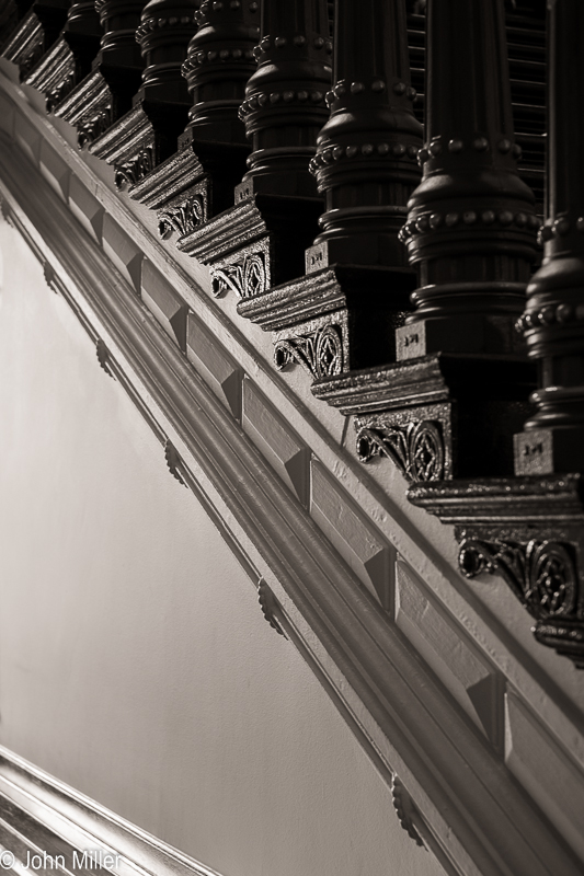 Texas Capitol - Stairs