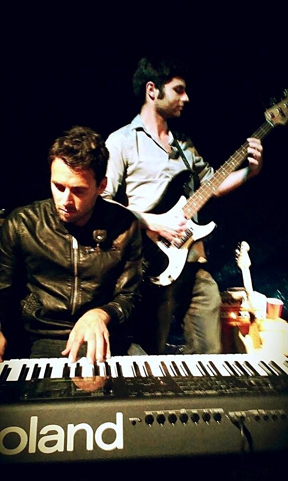 Gus Detar (keyboard) and Jake Detar (bass)