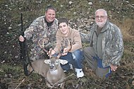 Three Generations Hunting Texas Whitetail