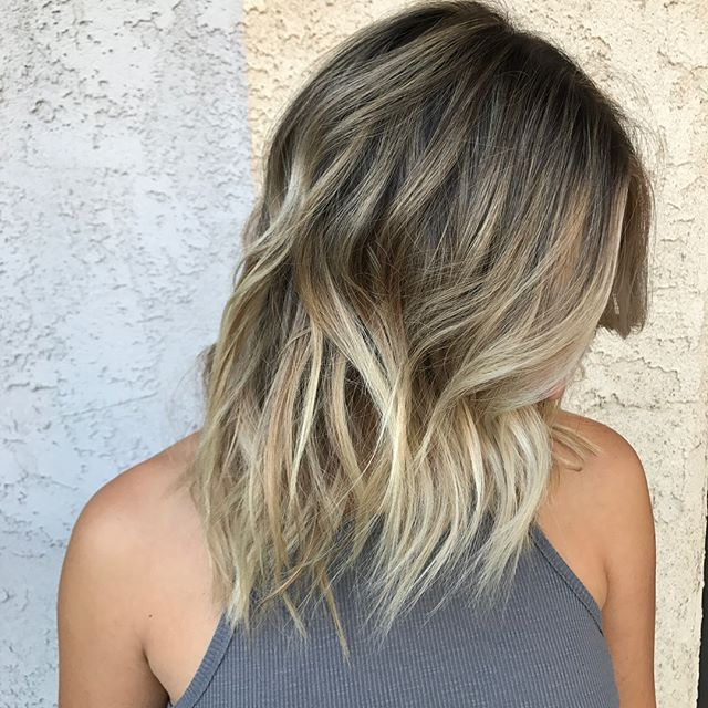 Balayage + babylight + cut all work done by @cjay_color. Call and book your end of the year appointments in advance before they are all gone  8187316442 8188462911