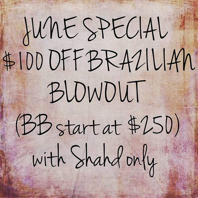Text (818)568-8782 for appointments!! June special only!!
