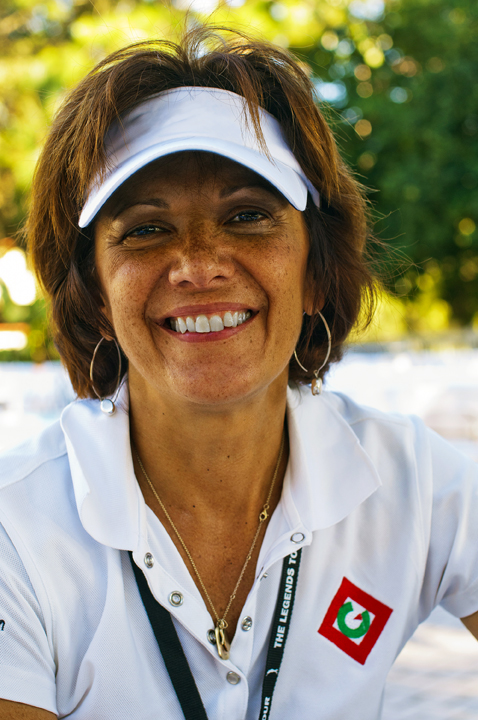 """Reporter/Associate Producer Extraordinaire    Phyllis C. Barone, a.k.a. """"The Queen on the Green"""" was first introduced to the world of golf while employed with USA Networks. The cable channel aired the first and second rounds of several tournaments including the Players Championship at TPC Sawgrass. USA also televised the Ryder Cup in 1989 at the Belfry. This experience sweetened her palate for the game and inspired her to take golf lessons at the John Jacobs' Golf School.  She then followed her passion and published her own golf magazine. When print went on the wane, and the internet evolved, The Queen decided to investigate broadcast talent opportunities. She aired live on Golf Talk Radio and continues to take on the role as interviewer for various media outlets: Clickondetroit, Michigan Golfer Television and Linksvideo/Golf360 TV. She is also a Golfweek Course Rater. When the Queen has on her golf shoes, she says she is workin' and is eager to play 9, 18, or even 36 holes if and when duty calls. She will also educate you on the best products including golf equipment, apparel and accessories. The Queen is always prepared and will share any goodies or healing aides she has in her bag!"""