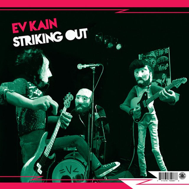"EV Kain has an upcoming gig with bass legend Mike Watt on Record Store Day to celebrate the release of the ORGMusic split 7""—Mike Watt + the Secondmen's cover of The Dicks' ""Shit on Me."" with EVK's ""Striking Out"" on the flip side.  #mikewatt #recordstoreday #amoebarecords"