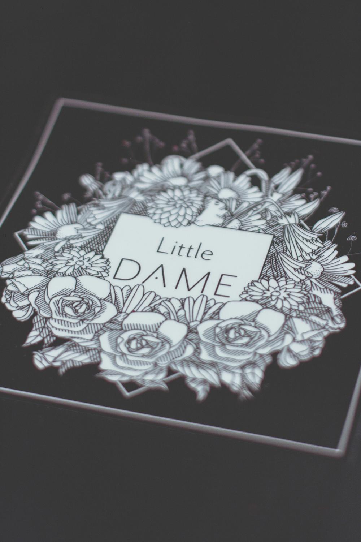 Little Dame Shop: Shopping Bag Illustration
