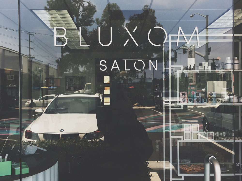 Bluxom Salon Entry Vinyl