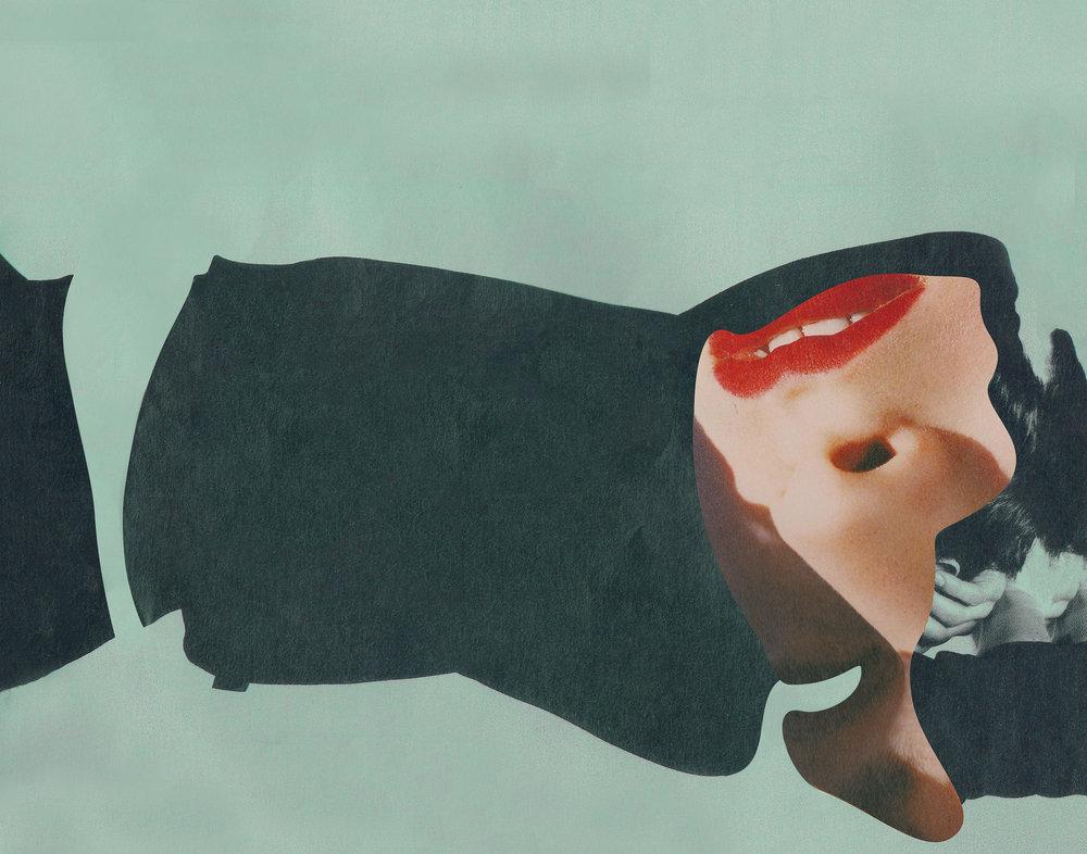 Freelance Editorial Collage Works | San Diego | Annie Szafranski | Feels Design Studio