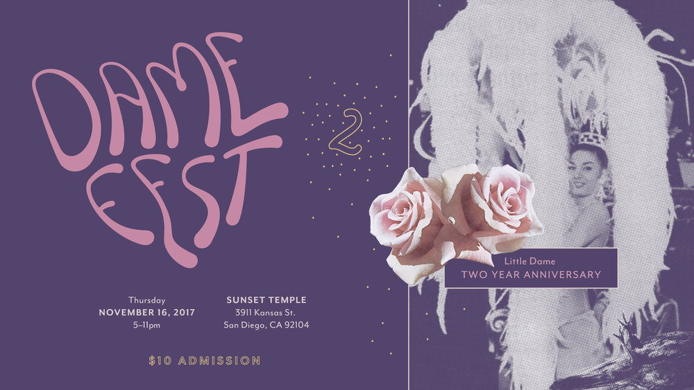 Little Dame | Dame Fest 2 | Cover Photo