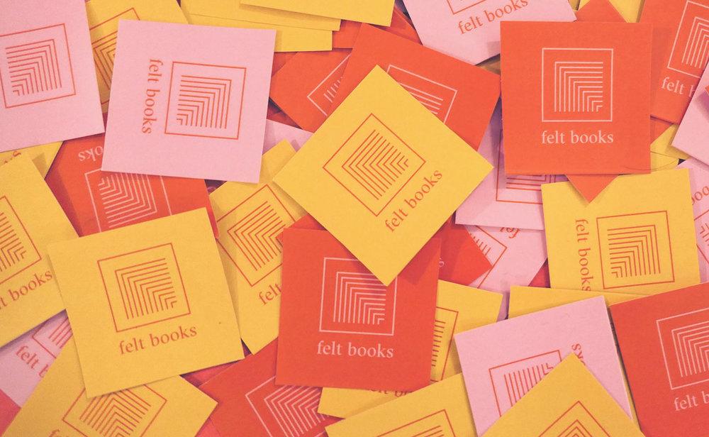 Felt Books   Brand Identity   San Diego   Feels Design Studio