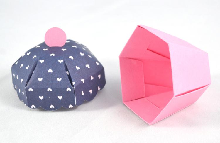 Paper Acorn Diy Cupcake Kit