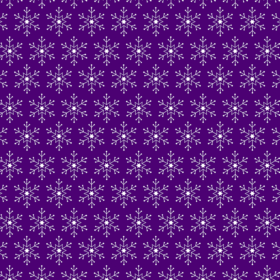 Snowflake Purple