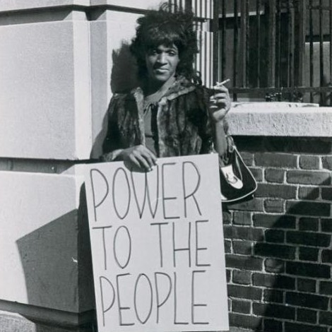 "Marsha P. Johnson (1944 – 1992) was an African American drag queen and gay liberation activist. A veteran of the Stonewall riots, Johnson has been identified as one of the first to fight back in the clashes with the police. In the early 1970s, Johnson and close friend Sylvia Rivera co-founded the Street Transvestite Action Revolutionaries (STAR); together they were a visible presence at gay liberation marches and other radical political actions. In the 1980s Johnson continued her street activism as a respected organizer and marshall with ACT UP. With Rivera, Johnson was a ""mother"" of STAR House, getting together food and clothing to help support the young drag queens, trans women and other street kids living on the Christopher Street docks or in their house on the Lower East Side of New York. #AllyAcademy #marthapjohnson #stonewall"