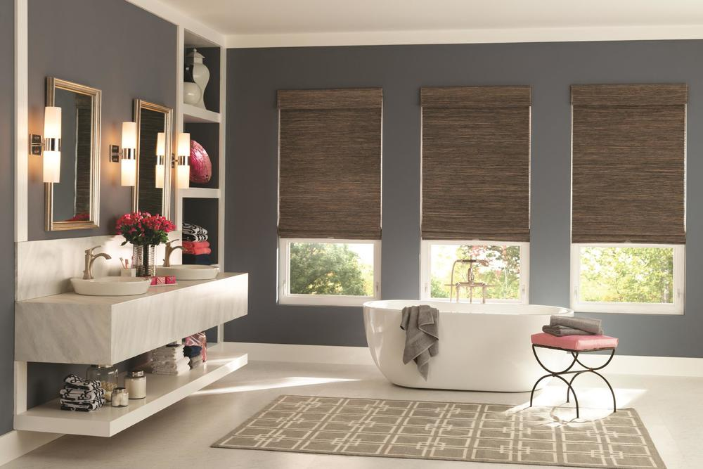 Natural/Woven Wood Shades Knoxville
