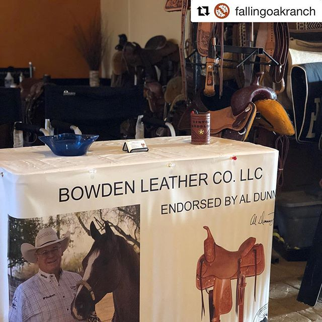 #Repost @fallingoakranch ・・・ We have a fun vendor joining us for #EquineMadtersSeries this weekend! Come on down and check Bowden Leather out! Even if your not participating, come say 👋🏻!