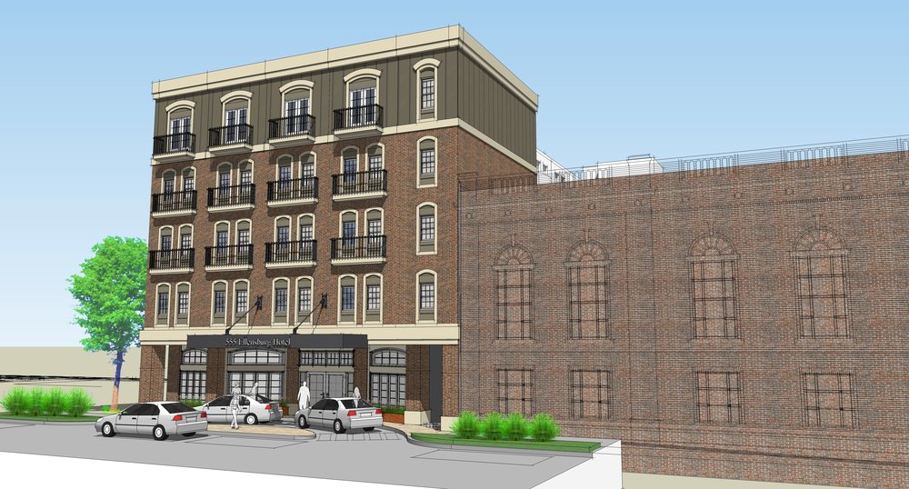 The Ellensburg Hotel project