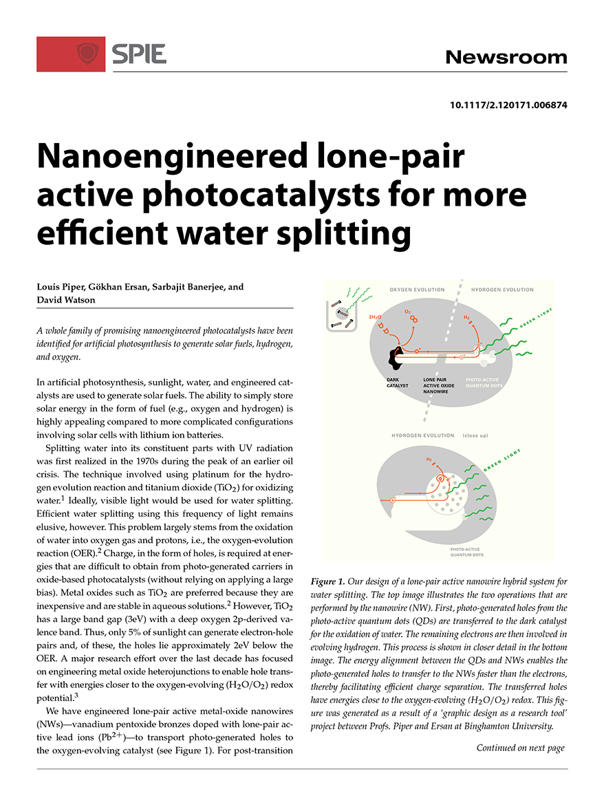 water splitting infographic (2017) — TH+INK
