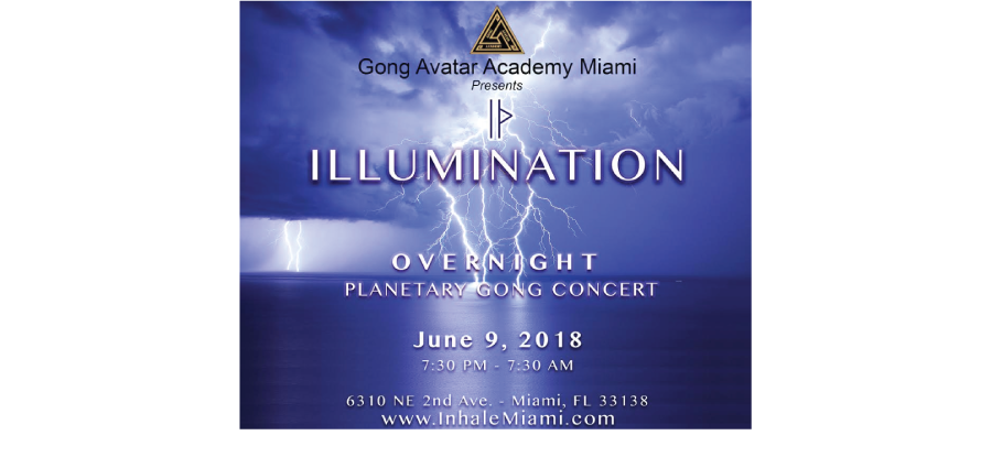 Illumination overnight planetary gong concert inhale miami illumination overnight planetary gong concert reheart Gallery