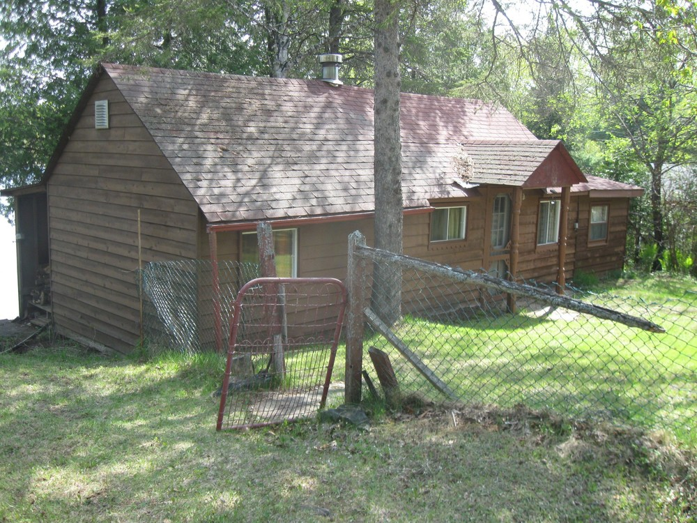 BEFORE - original 1940's cottage