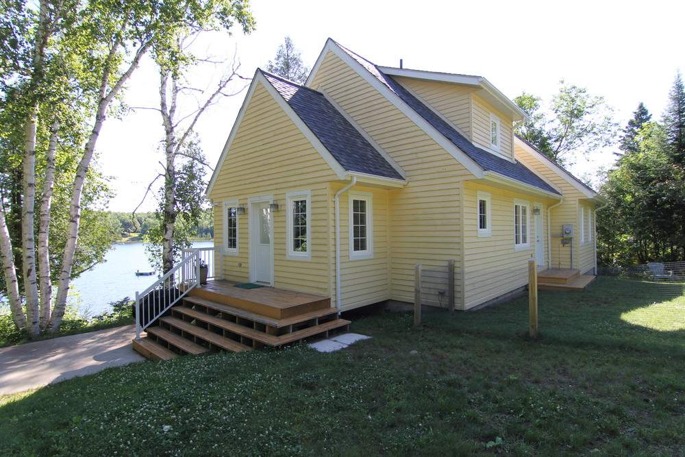 AFTER - New cottage, with more space and custom details